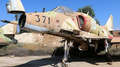 371 - McDonnell Douglas A-4E Skyhawk - Israel - Air Force