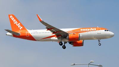 G-UZHR - Airbus A320-251N - easyJet