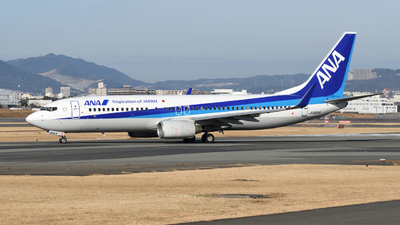 A picture of JA66AN - Boeing 737881 - All Nippon Airways - © Kouki