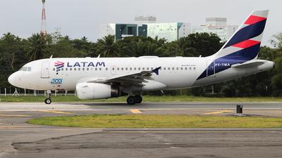 A picture of PTTMA - Airbus A319132 - LATAM Airlines - © Felipe Cruz SBSV