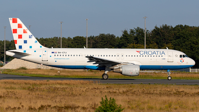 A picture of 9ACTJ - Airbus A320214 - Croatia Airlines - © Markus Altmann