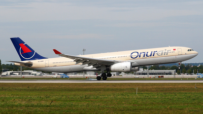TC-OCB - Airbus A330-342 - Onur Air