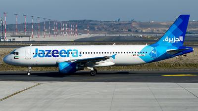 9K-CAL - Airbus A320-214 - Jazeera Airways
