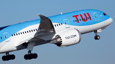 OO-LOE - Boeing 787-8 Dreamliner - TUI