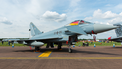 31-05 - Eurofighter Typhoon EF2000 - Germany - Air Force