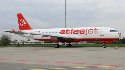 OE-IBE - Airbus A320-232 - Kingfisher Airlines