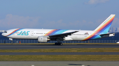 JA8978 - Boeing 777-289 - Japan Air System (JAS)
