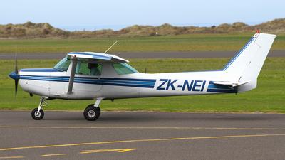ZK-NEI - Cessna 152 - New Zealand International Commercial Pilot Academy