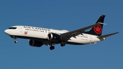 A picture of CGEJL - Boeing 737 MAX 8 - Air Canada - © adamaclean