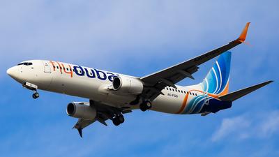 A picture of A6FGG - Boeing 7378KN - FlyDubai - © Faraz Ali