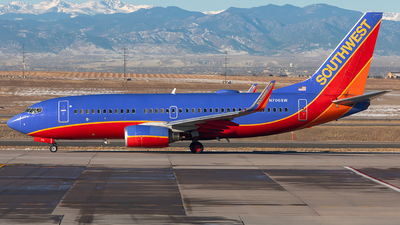 A picture of N706SW - Boeing 7377H4 - Southwest Airlines - © CJMoeser