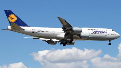 D-ABYK - Boeing 747-830 - Lufthansa