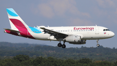 A picture of DAGWH - Airbus A319132 - Eurowings - © Holger Eultgen