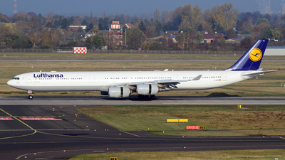 D-AIHS - Airbus A340-642 - Lufthansa