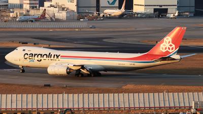 LX-VCI - Boeing 747-8R7F - Cargolux Airlines International