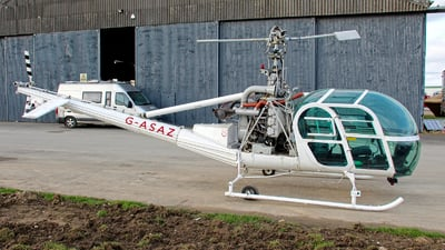 G-ASAZ - Hiller UH-12E - Hields Aviation