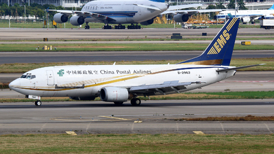 B-2962 - Boeing 737-35N(SF) - China Postal Airlines