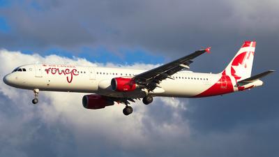 C-GHPJ - Airbus A321-211 - Air Canada Rouge