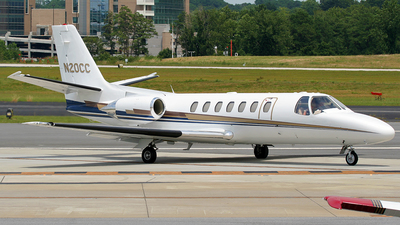 N20CC - Cessna 560 Citation Ultra - Private