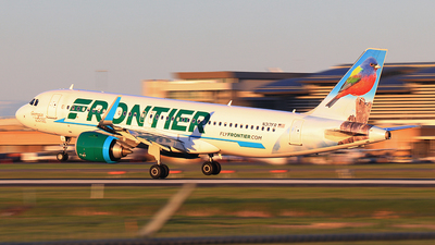 A picture of N317FR - Airbus A320251N - Frontier Airlines - © Hongming Zheng