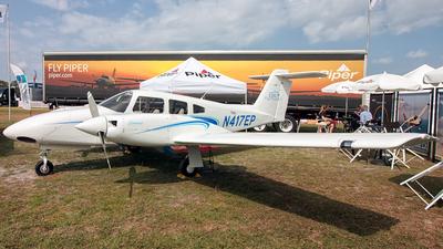 A picture of N417EP - Piper PA44180 Seminole - [4496403] - © Hector Rivera - Puerto Rico Spotter
