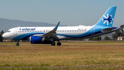 XA-DJM - Airbus A320-251N - Interjet