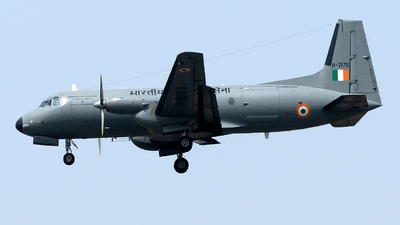 H-2176 - Hindustan Aeronautics HAL-748 M - India - Air Force