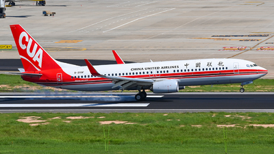 A picture of B209F - Boeing 73789P - China United Airlines - © Morrisssssssss