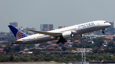 A picture of N27958 - Boeing 7879 Dreamliner - United Airlines - © Morris Biondi