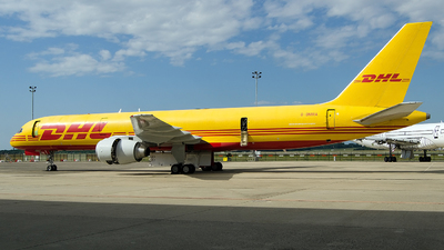 A picture of GBMRA - Boeing 757236(SF) - DHL - © Hubay Andor