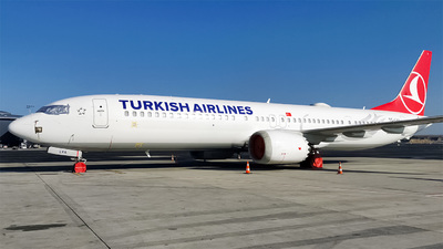 A picture of TCLYA - Boeing 737 MAX 9 - Turkish Airlines - © Turkay Oksuz