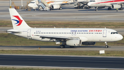 A picture of B6616 - Airbus A320232 - China Eastern Airlines - © heitanyang