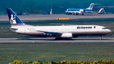 SE-DZH - Boeing 737-804 - Britannia Airways AB