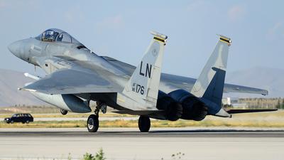 86-0176 - McDonnell Douglas F-15C Eagle - United States - US Air Force (USAF)