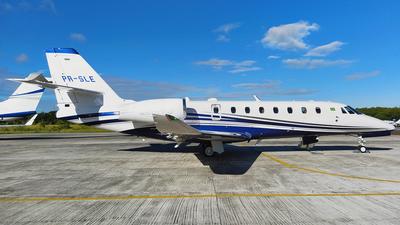 A picture of PRSLE - Cessna 680 Citation Sovereign+ - [6800566] - © Sergio Mendes