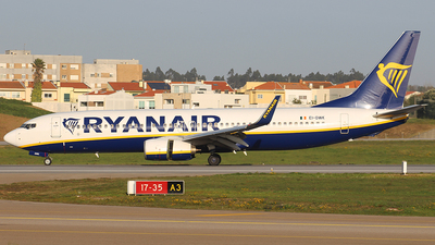 A picture of EIDWK - Boeing 7378AS - Ryanair - © Luciano Bragança