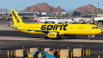 N686NK - Airbus A321-231 - Spirit Airlines