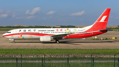 B-5132 - Boeing 737-8Q8 - Shanghai Airlines