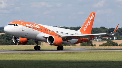 A picture of GUZHI - Airbus A320251N - easyJet - © Charles Cunliffe