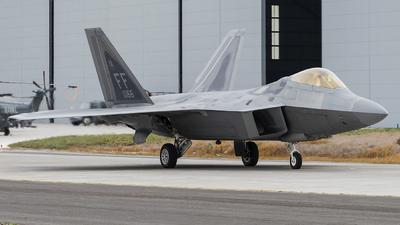08-4166 - Lockheed Martin F-22A Raptor - United States - US Air Force (USAF)