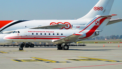 047 - Yakovlev Yak-40 - Poland - Air Force