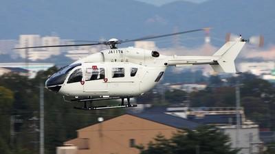 JA117A - MBB-Kawasaki BK117C-2 - Private