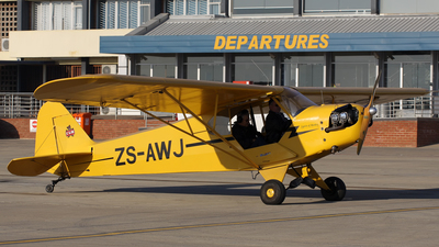 ZS-AWJ - Piper J-3C-65 Cub - Private