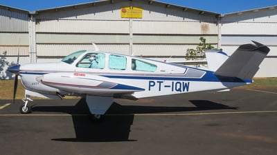 PT-IQW - Beechcraft V35B Bonanza - Private