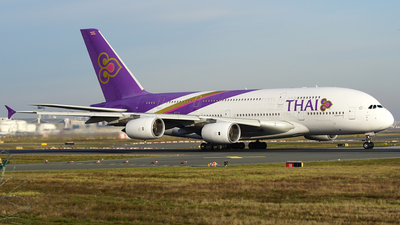 A picture of HSTUE - Airbus A380841 - Thai Airways - © S. Eckhardt