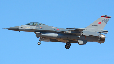 88-0034 - General Dynamics F-16C Fighting Falcon - Turkey - Air Force