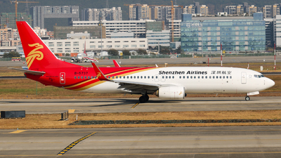 A picture of B5737 - Boeing 73787L - Shenzhen Airlines - © libohang