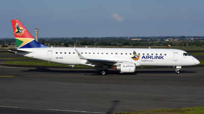 ZS-YAY - Embraer 190-100IGW - Airlink