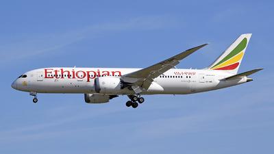 ET-ARE - Boeing 787-8 Dreamliner - Ethiopian Airlines
