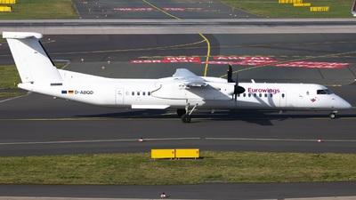 A picture of DABQD - De Havilland Canada Dash 8400 - [4234] - © Jan Rosskamp